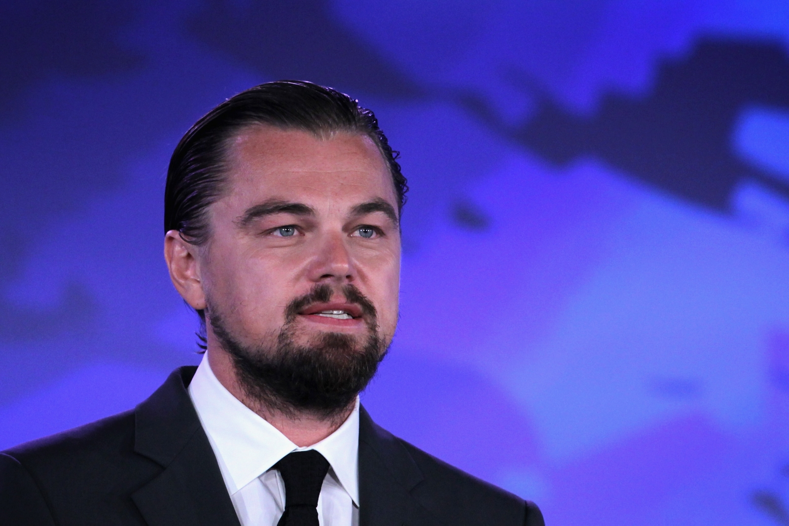 Actor Leonardo DiCaprio speaks at the 'Our Ocean' conference in Washington DC