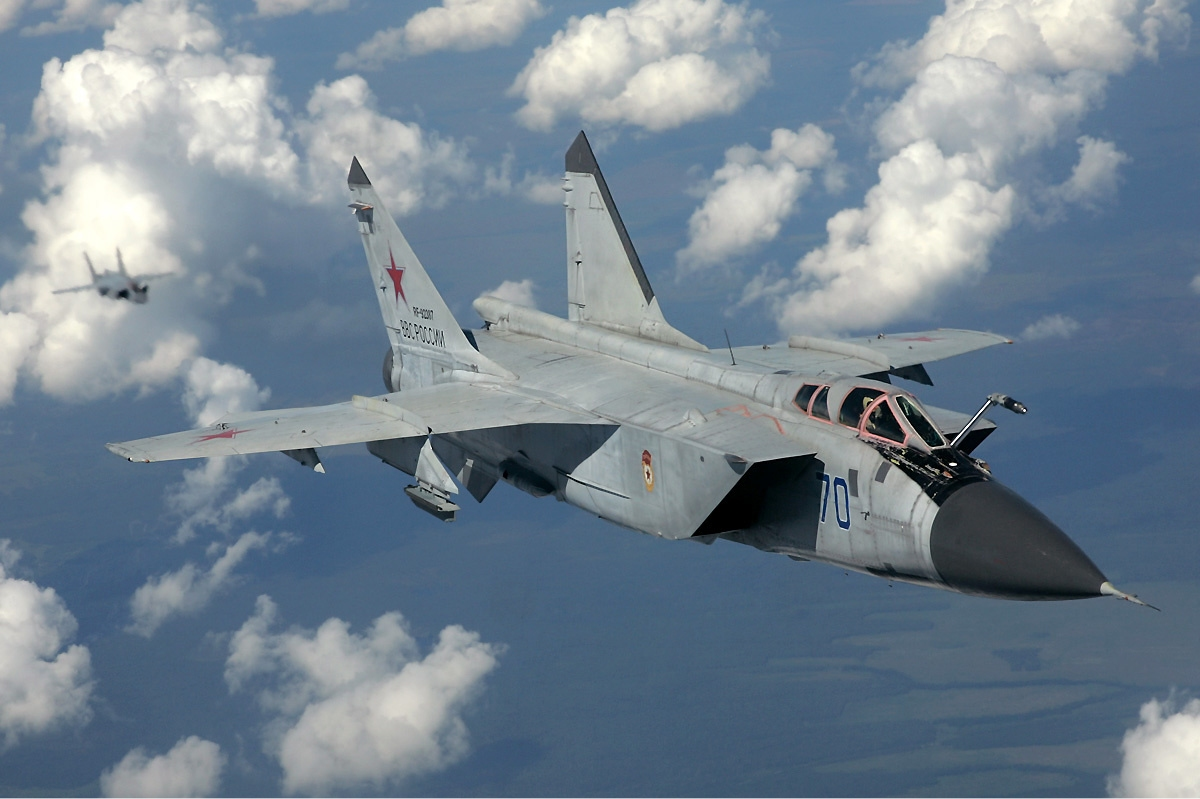 Russian Air Force MiG-31 Fighter Jet