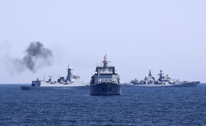Iran and China joint naval drill