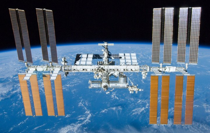 Experiments are being carried out on the International Space Station
