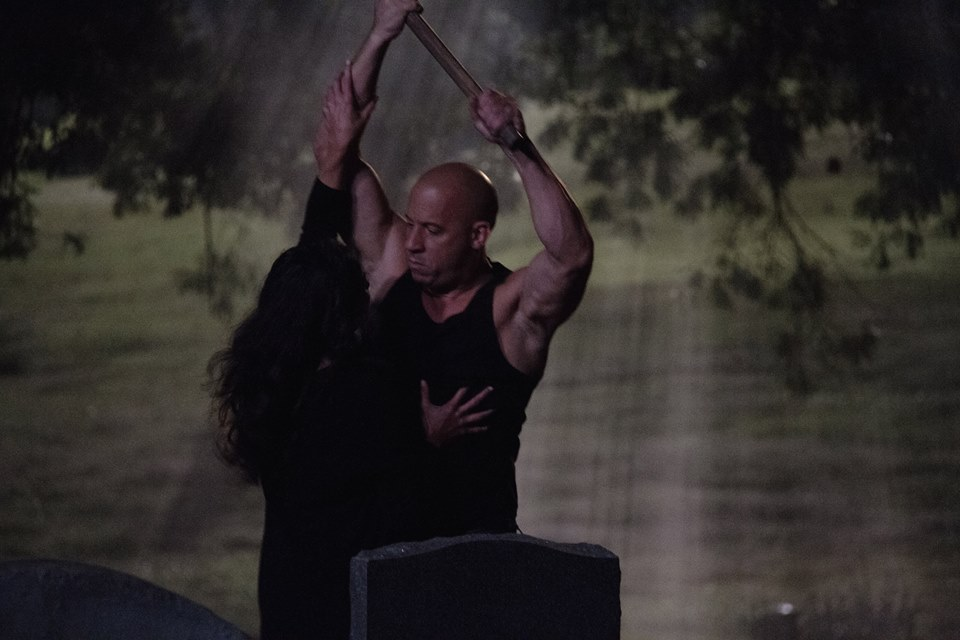 Vin Diesel in Fast and the furious 7
