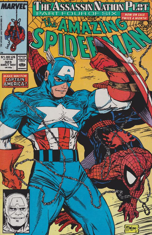 captain america and spider man