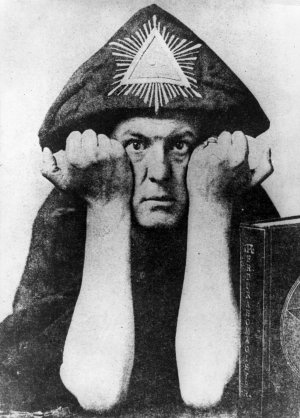 Occultist Alesteir Crowley, who dubbed himself The Great Beast (Getty)