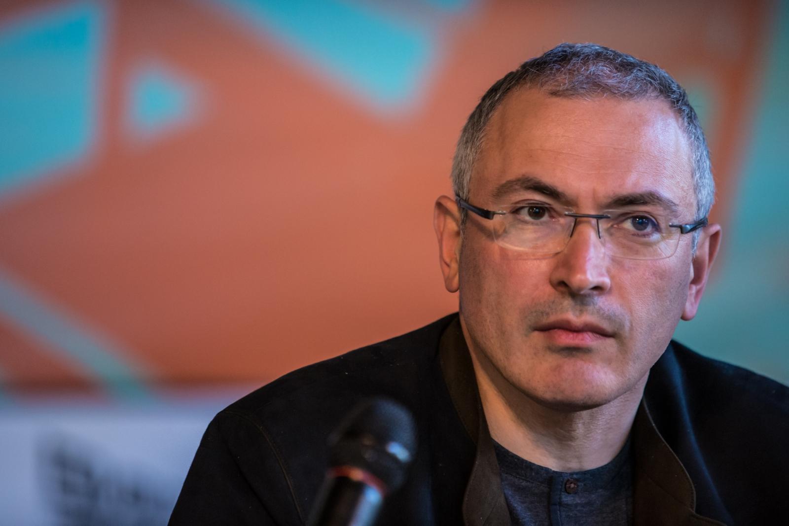 Former oil tycoon and Kremlin critic Mikhail Khodorkovsky (Getty)