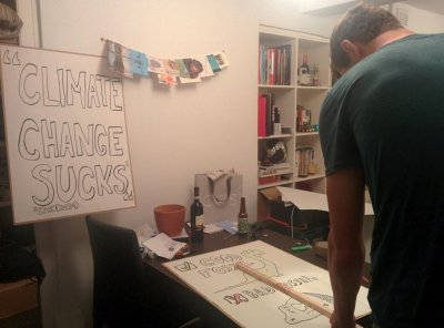 Preparing for Peoples Climate March