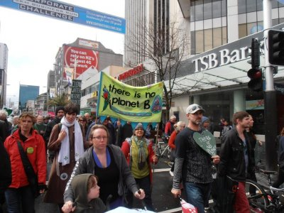Climate Change March, Auckland