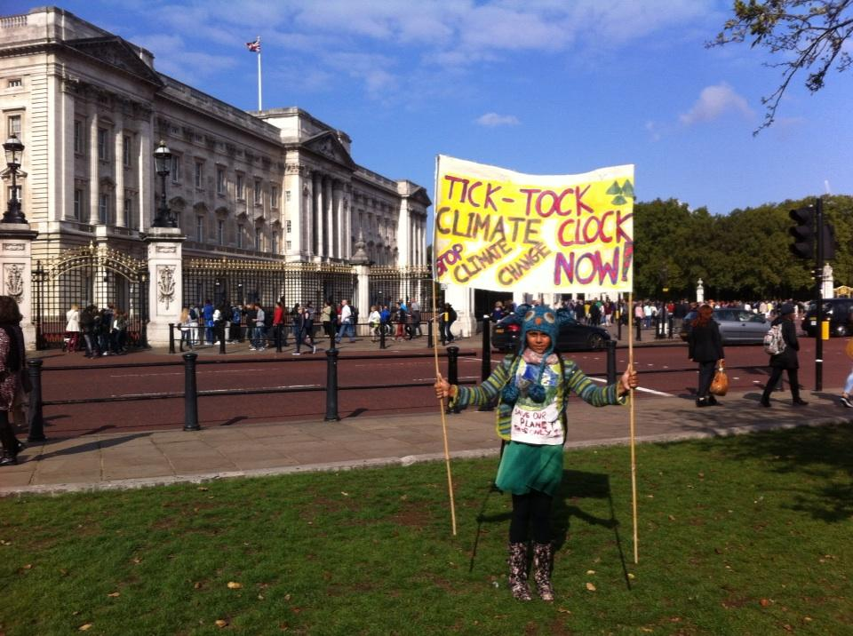Peoples Climate March, London, marcher