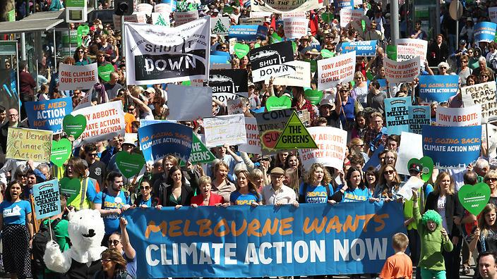 Peoples Climate March, Melbourne, Australia