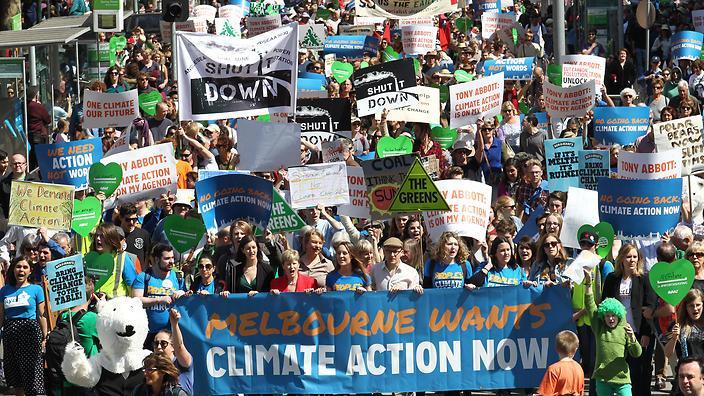 Peoples Climate March, Melbourne, Australia