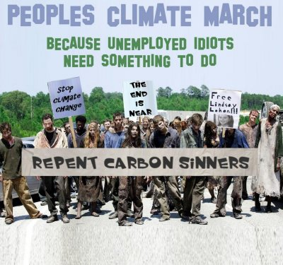 Peoples Climate March Zombies