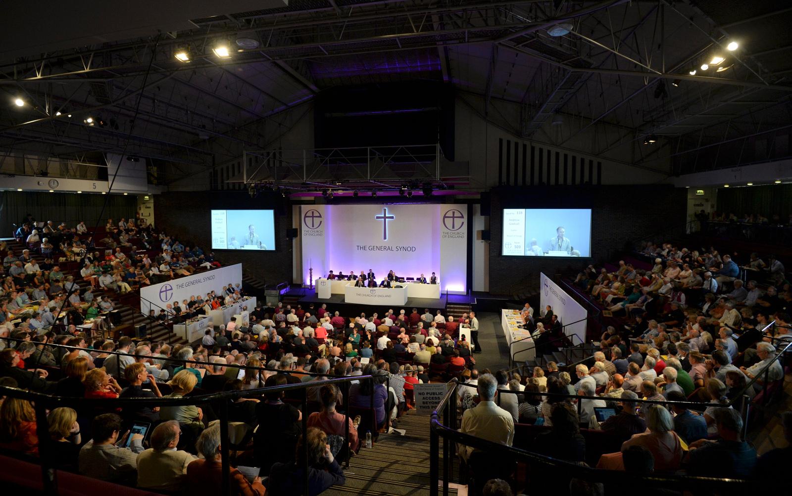 Church of England synod meeting
