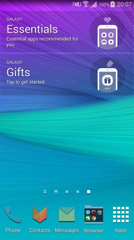 Apps widget