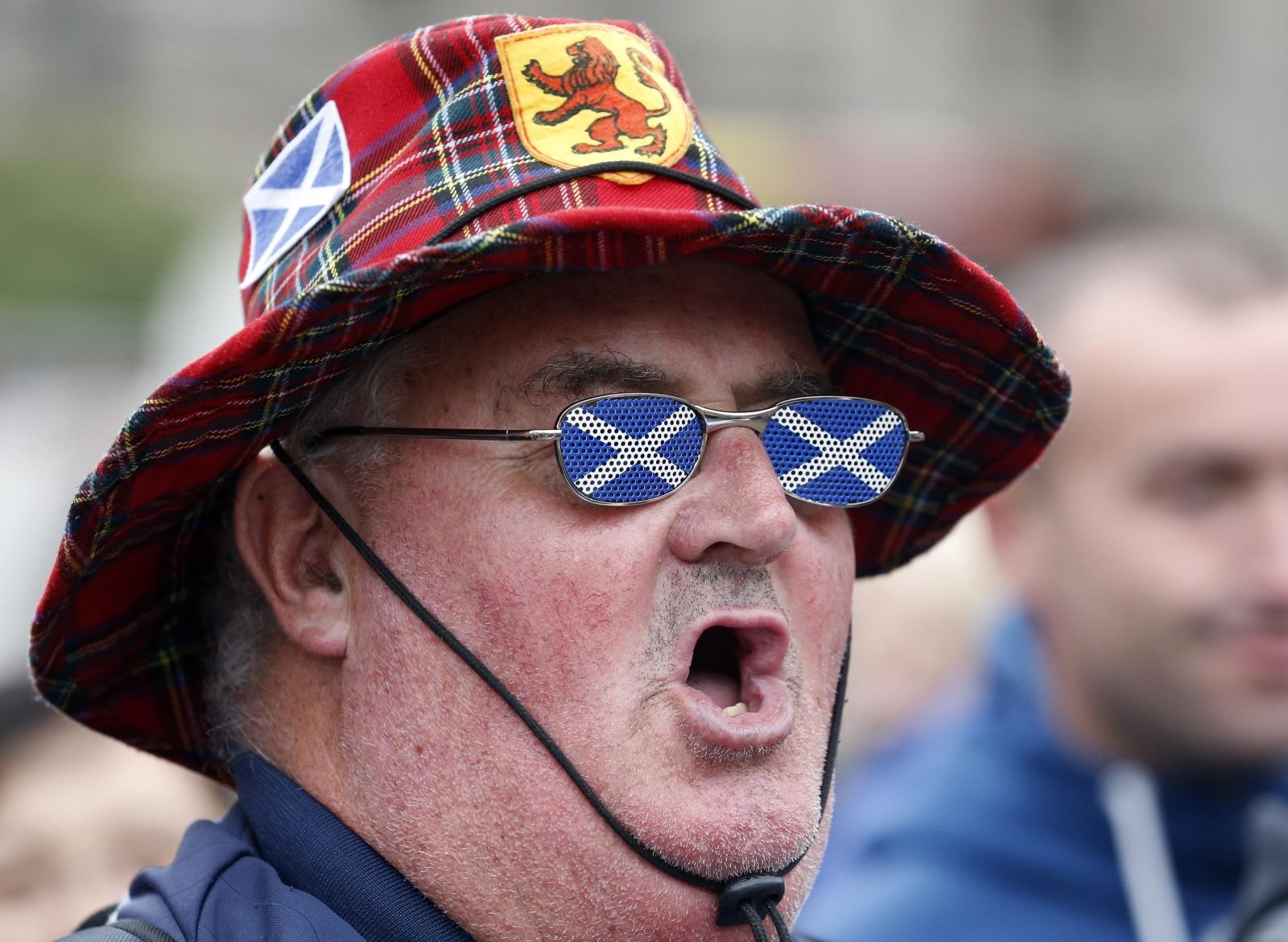 Scottish independence Yes voter