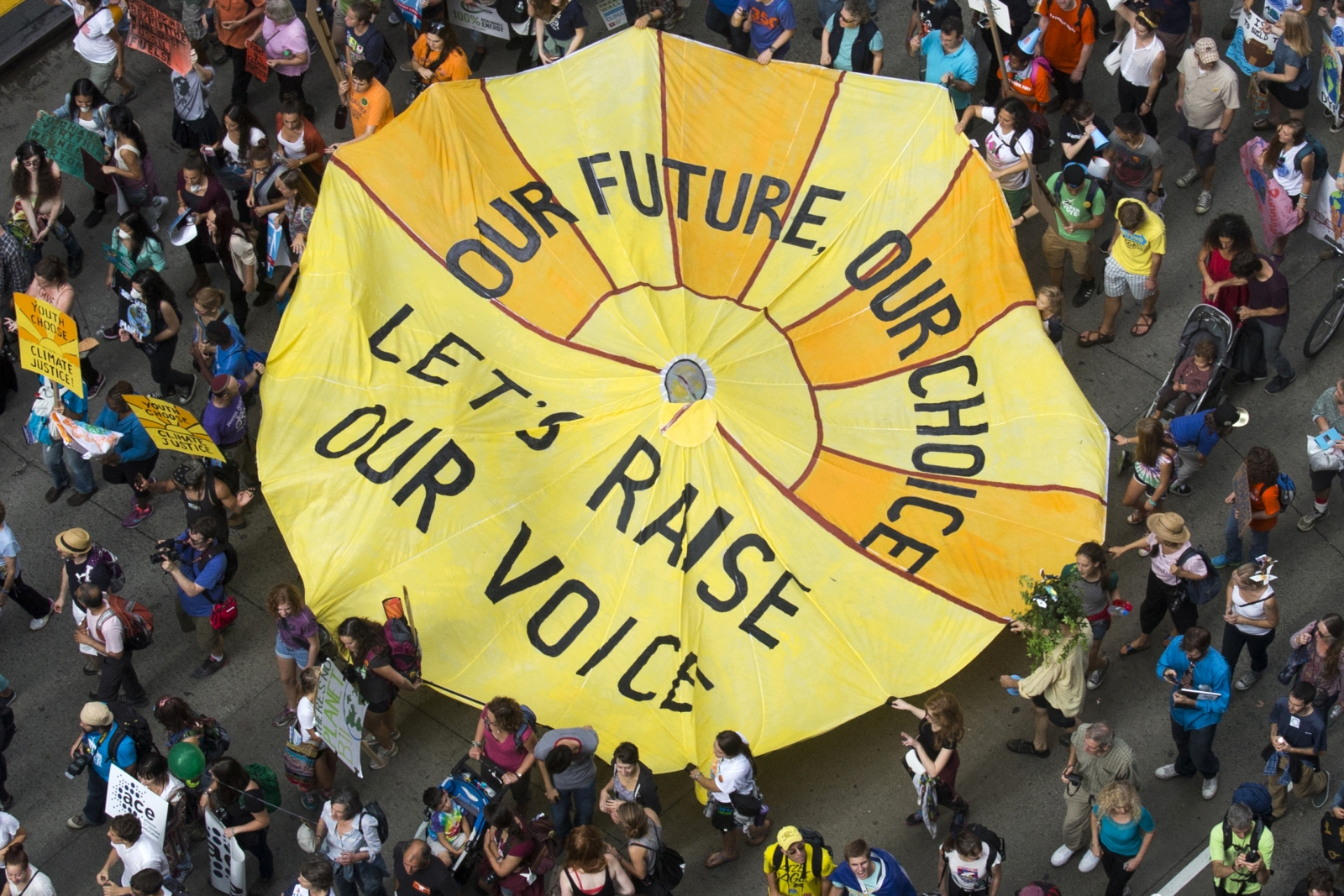 People's Climate March Takes Places Across the Globe