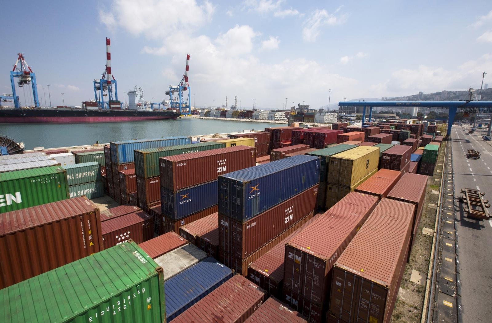 Israel port Haifa