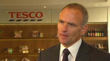 Tesco CEO Dave Lewis on Company's £250m Profit Overstatement