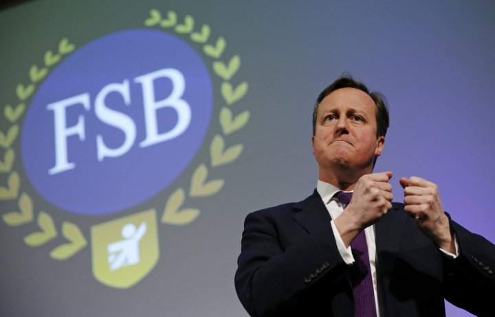 The Federation of Small Businesses and David Cameron