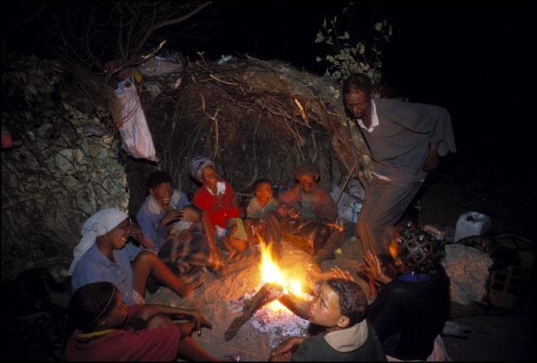 fire talks Bushmen