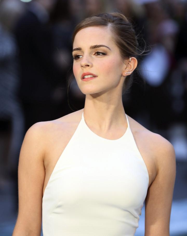 Emma Watson at the UK Premiere of