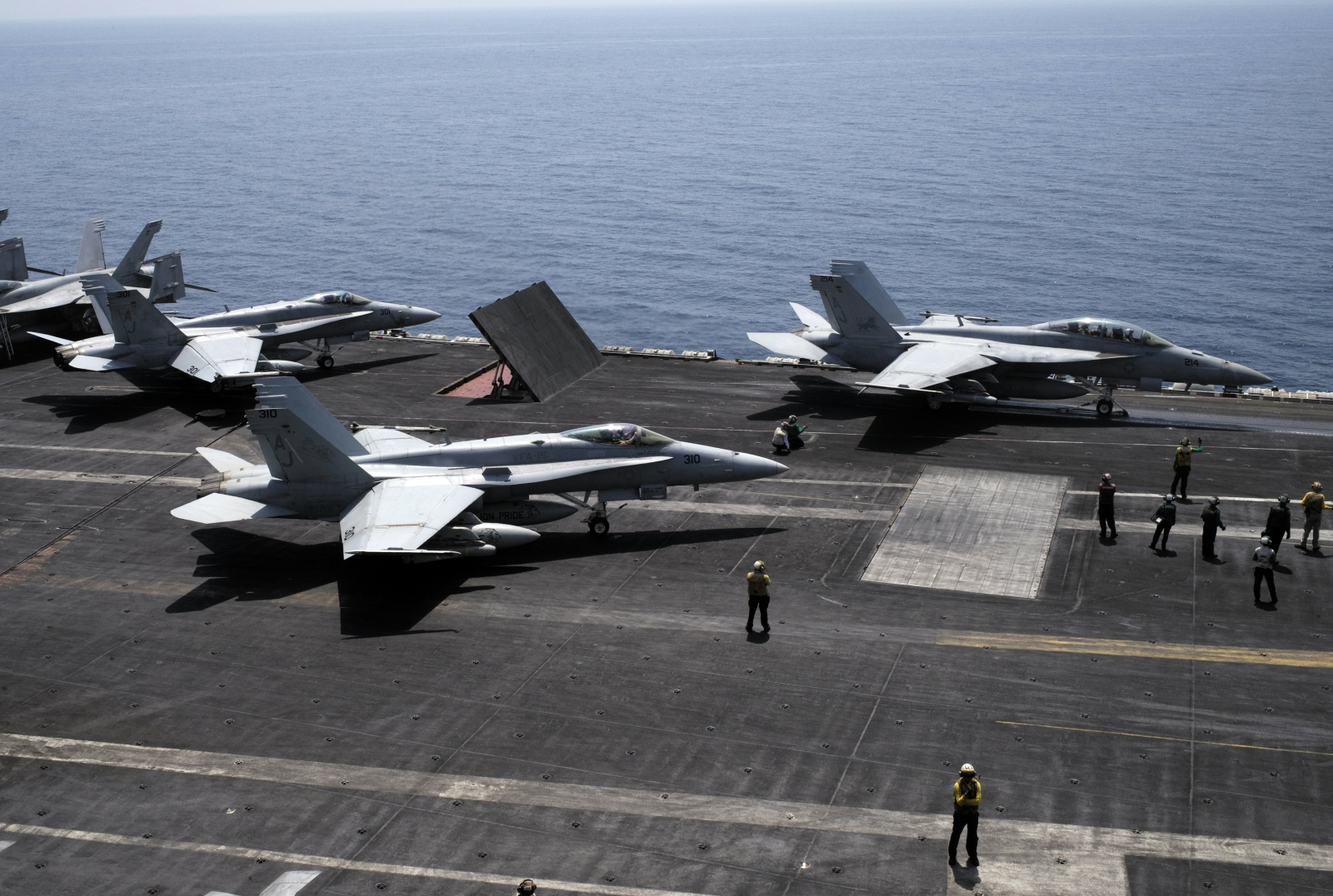 US airstrikes in Syria