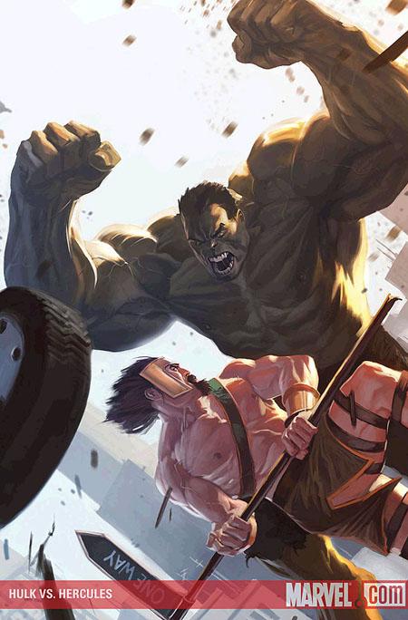 Hulk vs Hercules