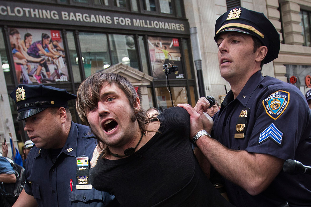 flood wall street arrest