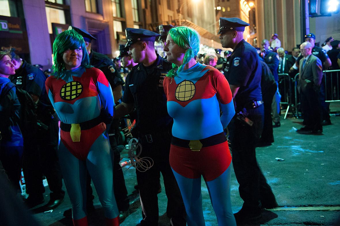 flood wall street superheroes