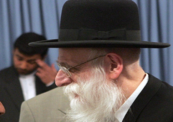 Rabbi Ahron Cohen's car was torched in a suspected Jew-on-Jew attack over his anti-Israel stance