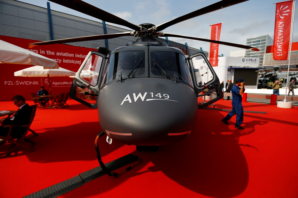 AugustaWestland Sues US Army to Thwart Airbus Helicopter Deal