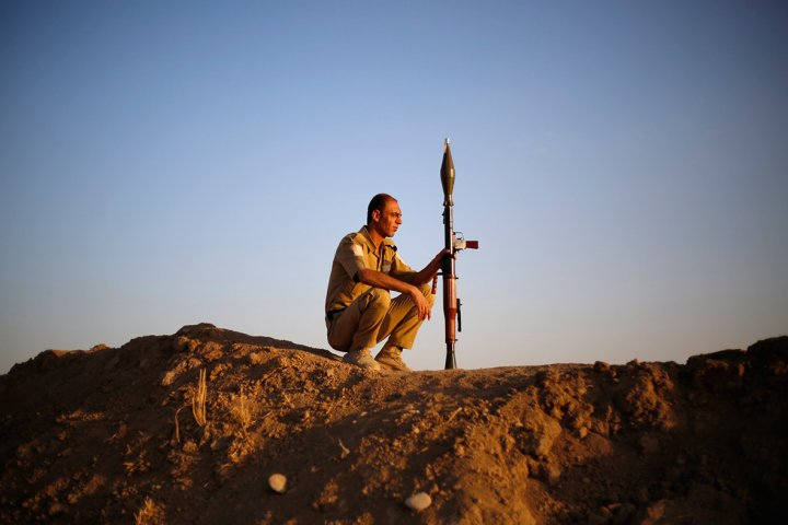 kurdish fighter