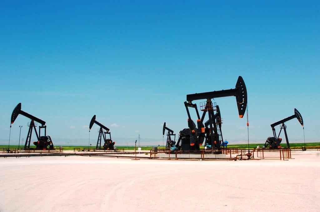 Oil Pump Jacks Syria