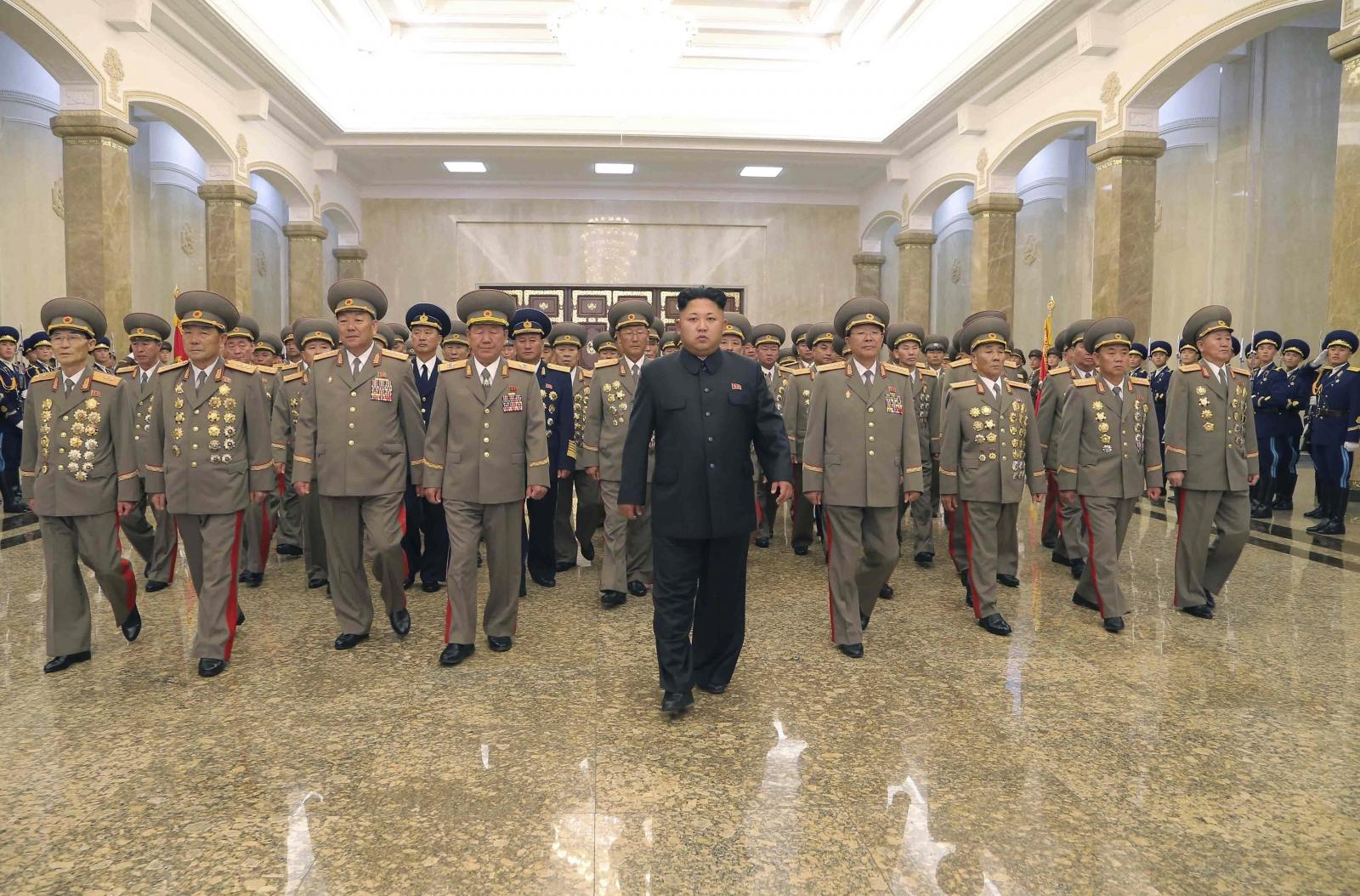 North Korea's leader Kim Jung-un