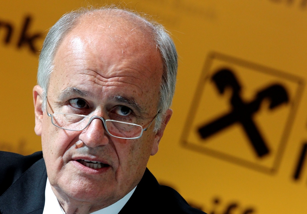 Raiffeisen Bank International CEO Karl Sevelda