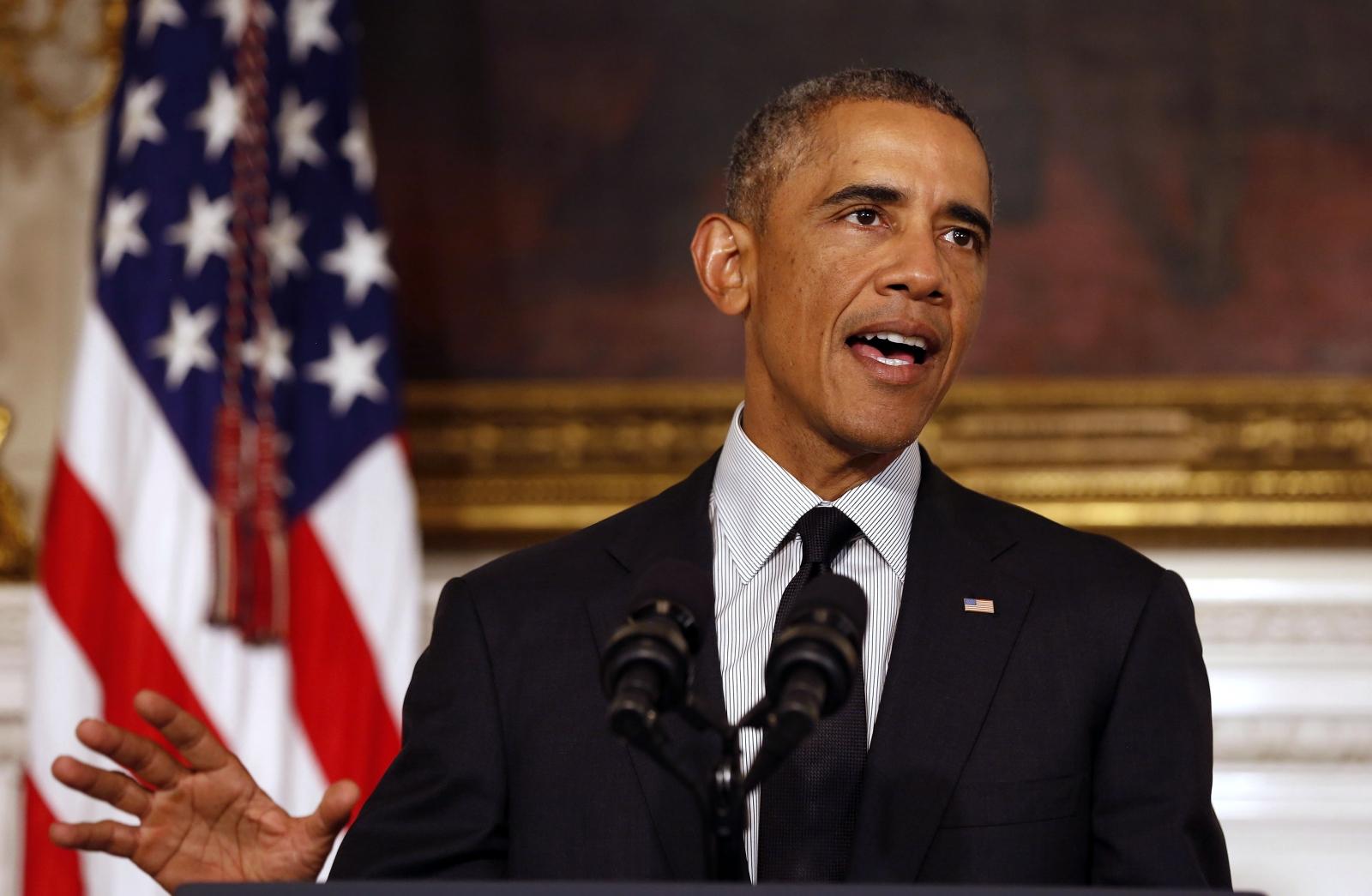 US President Barack Obama ISIS Islamic State