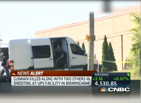 Alabama Shooting: 3 Dead at Birmingham UPS Warehouse UPS shooting,