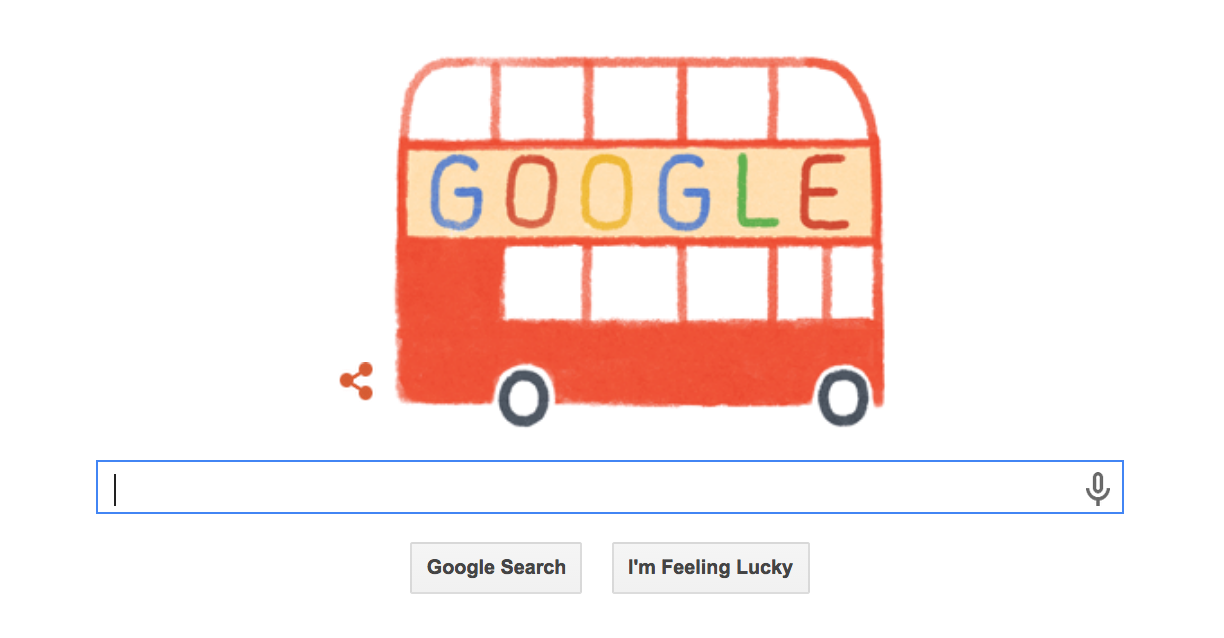 Google Doodle Celebrates Iconic Routemaster Turning 60