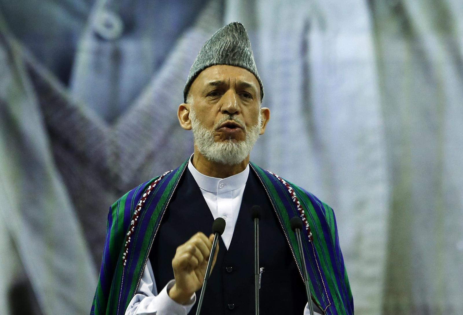Hamid Karzai and the US