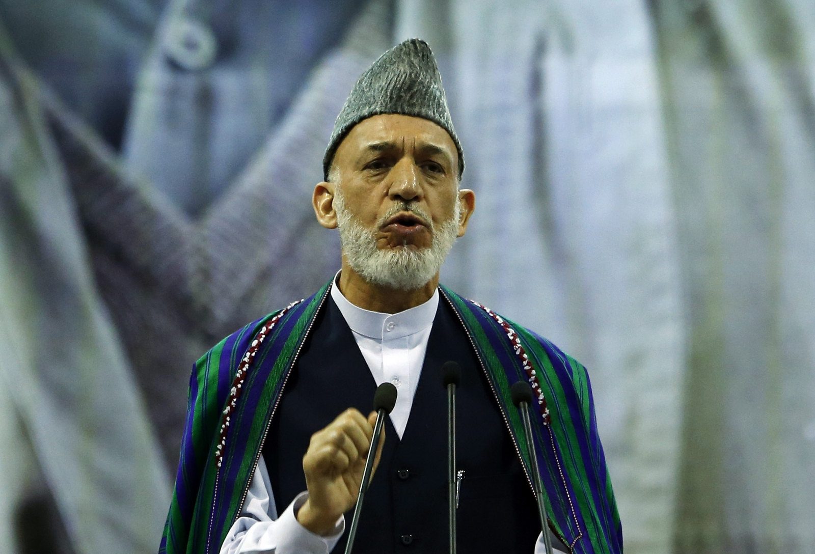 Hamid Karzai and the US