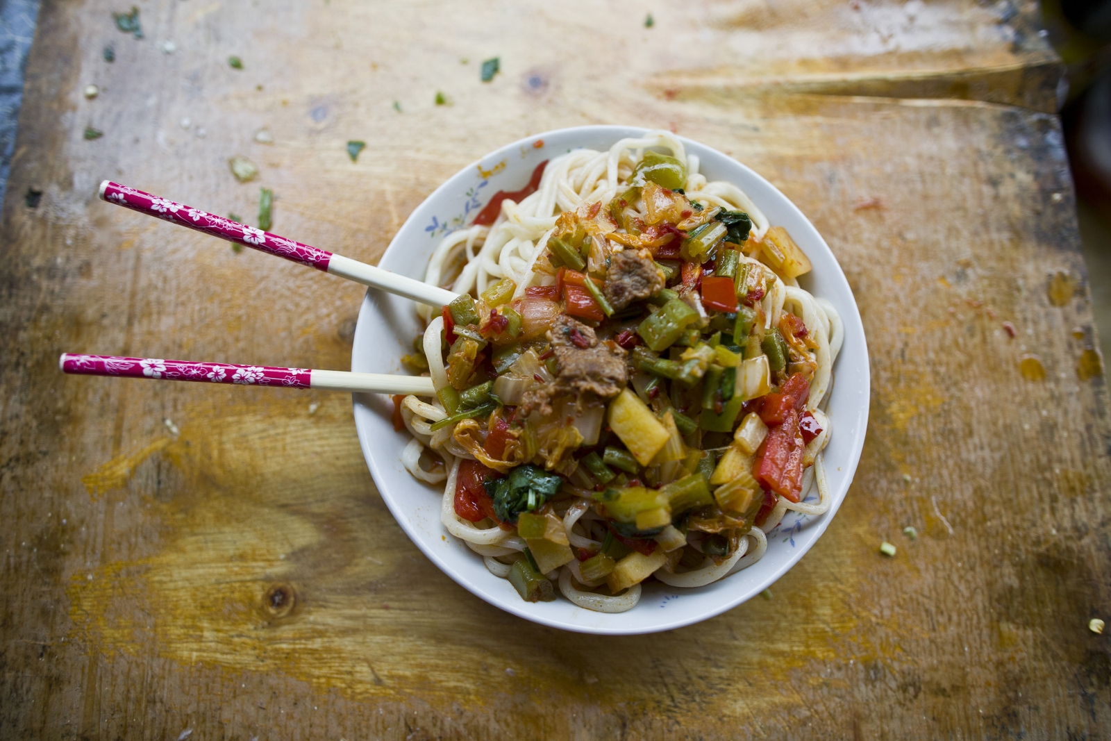 Chinese noodles Poppy