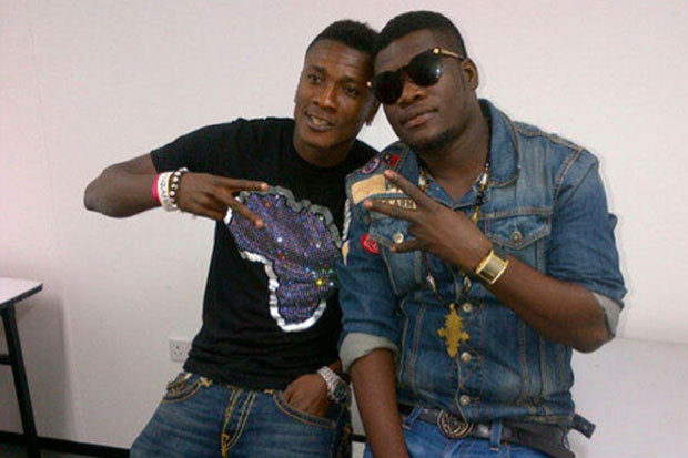 Gyan and rapper Castro