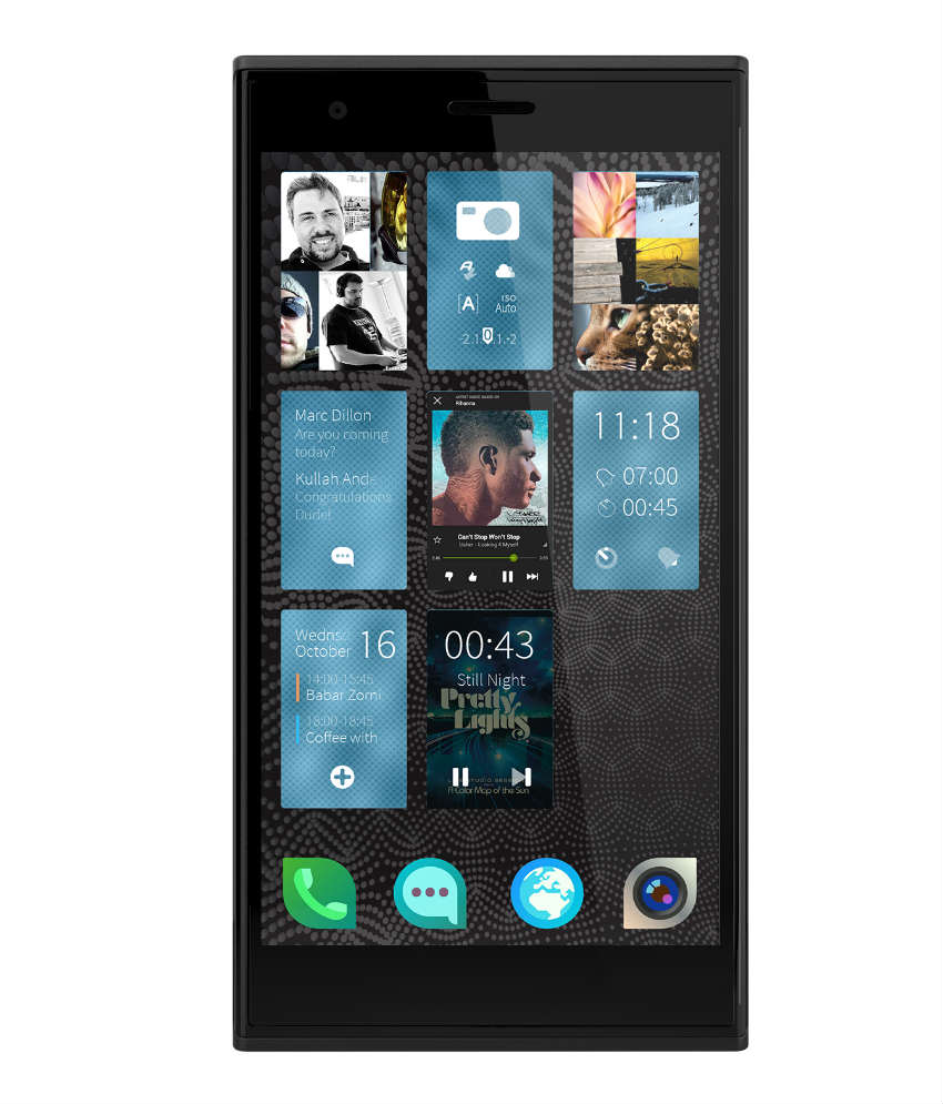 Jolla Sailfish Smartphones launched in India
