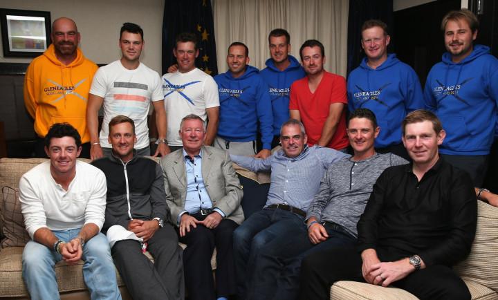 Team Europe Sir Alex Ferguson