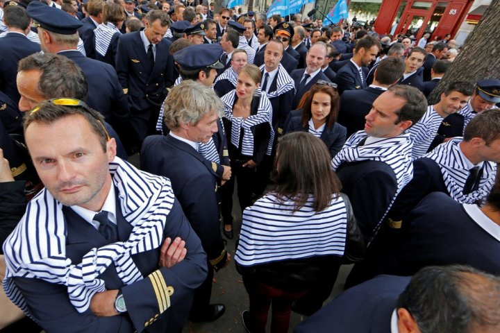 Air France Pilots' Strike