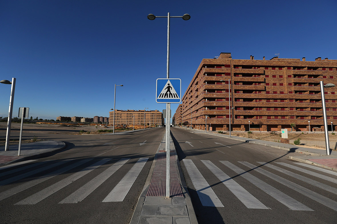 Spain ghost town Sesena