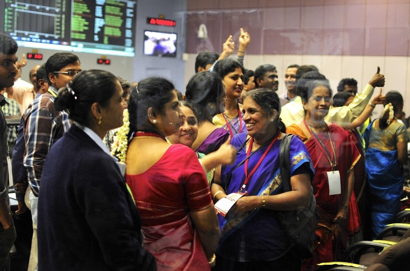 India Triumphs in Maiden Mars Mission