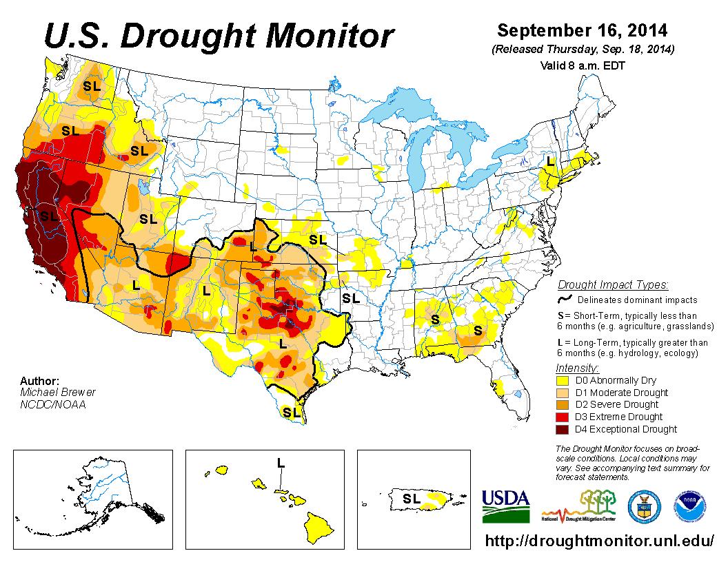 drought usa