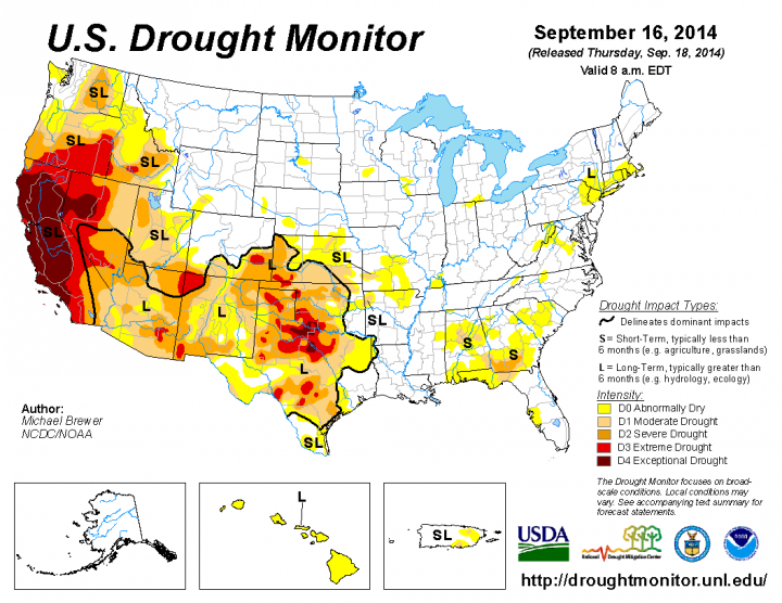 drought usa