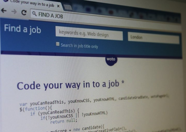 coding job advert woto