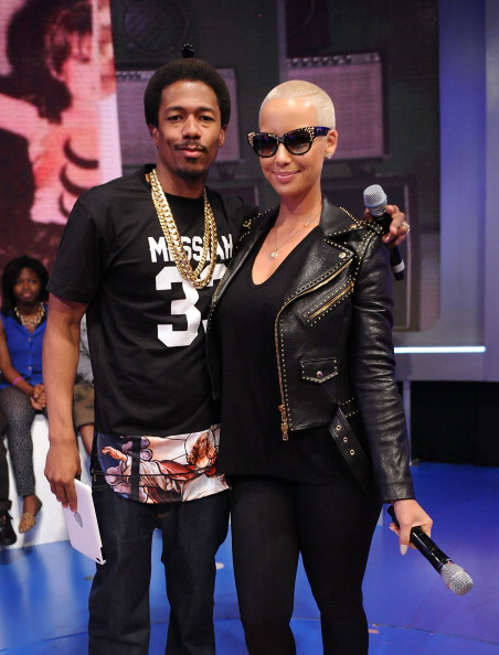 Nick Cannon and Amber Rose