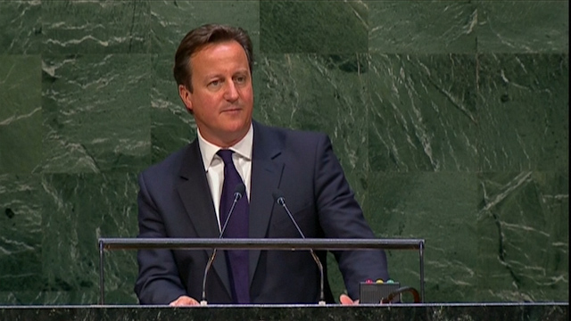 David Cameron Appeals to Parliament to Sanction Military Action Against Isis